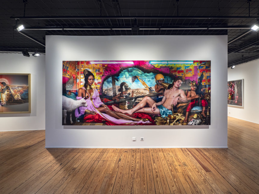 David LaChapelle in Arteez