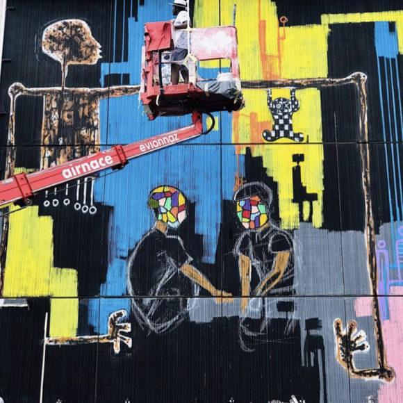 Mederic Turay participates at Vision Art Festival 2019