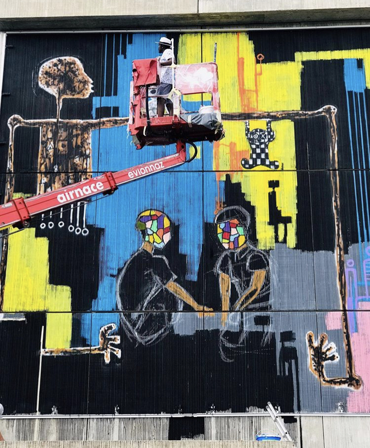 Mederic Turay participates at Vision Art Festival 2019