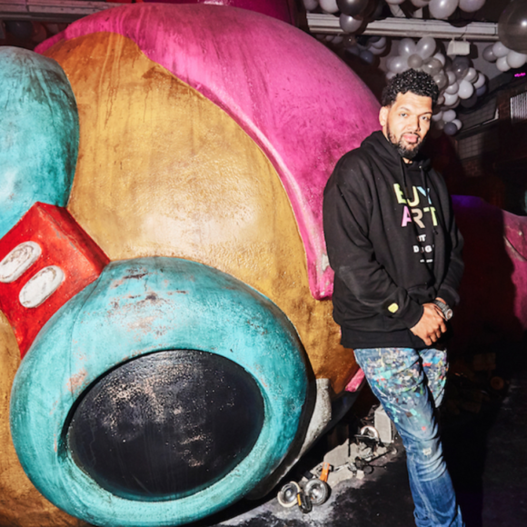 Hebru Brantley in HYPERBEAST