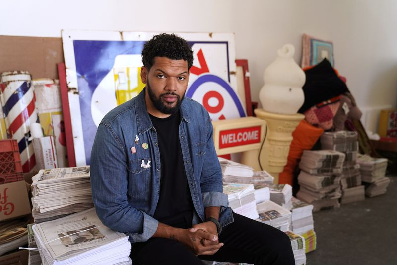 Hebru Brantley in Chicago Tribune